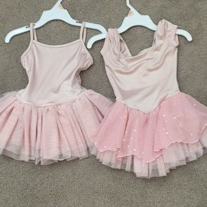 Other - 2-4 Dance Leotard with skirt